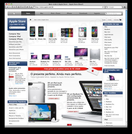 Apple Online Store Brasil