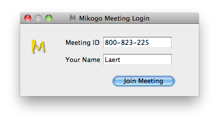 Mikogo para Mac OS X