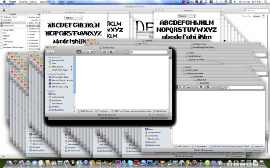 Mac FAIL instalando fontes