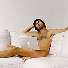 Mac calendário nerd nu