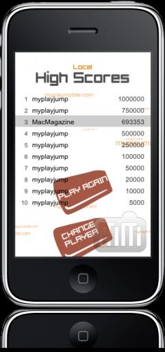 MyPlayJump no iPhone