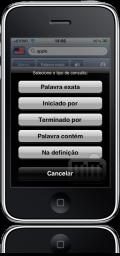 Michaelis Dicionário Conciso Inglês no iPhone