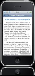 Michaelis Guia Prático da Nova Ortografia no iPhone