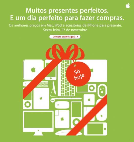 Apple Black Friday 2009 Brasil
