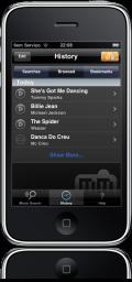 Midomi no iPhone