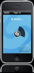 Shazam Encore no iPhone