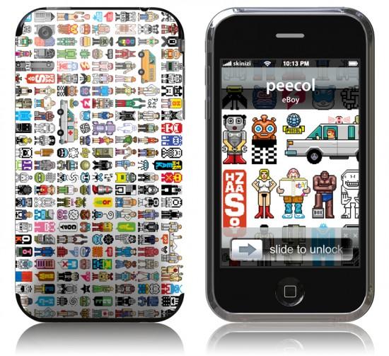 Skinizi para iPhone 3GS
