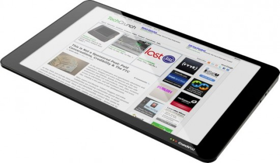 TechCrunch CrunchPad