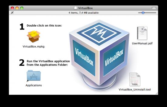 VirtualBox 3.1.0