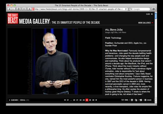 Steve Jobs smartest - The Daily Beast