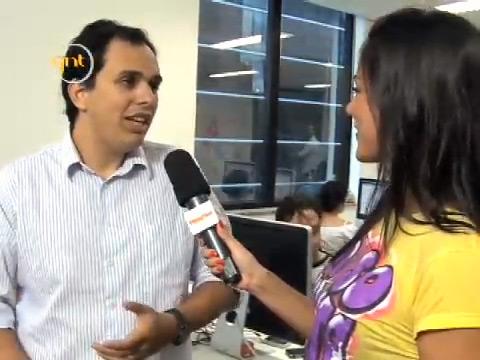 Breno Masi em entrevista para a GNT