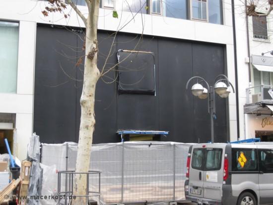 Construção da Apple Retail Store de Frankfurt