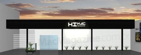 Projeto da fachada da Himac