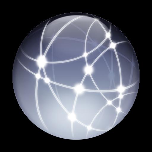 Ícone - Preferências de rede no Mac OS X