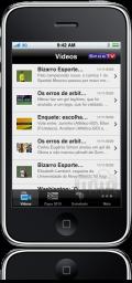 Futebol no iPhone