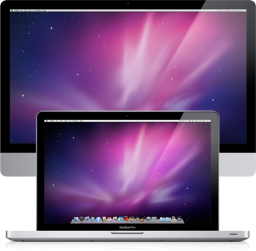 iMac Aluminum e MacBook Pro unibody