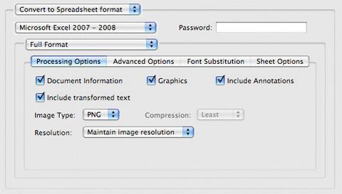 PDF2Office Professional 5.0 para Mac OS X