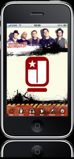 Jota Quest no iPhone