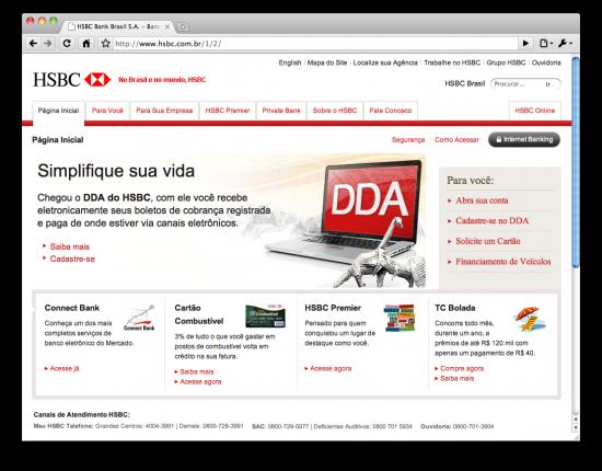Mac é Pop - HSBC