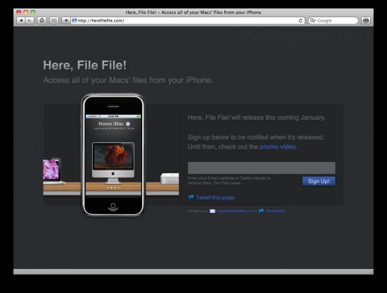 Here, File File!