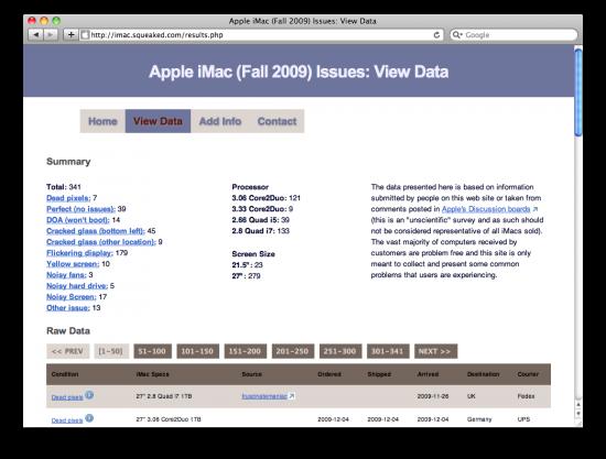 Issue Tracker para o iMac Late 2009