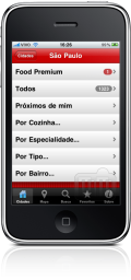 Food Brasil no iPhone