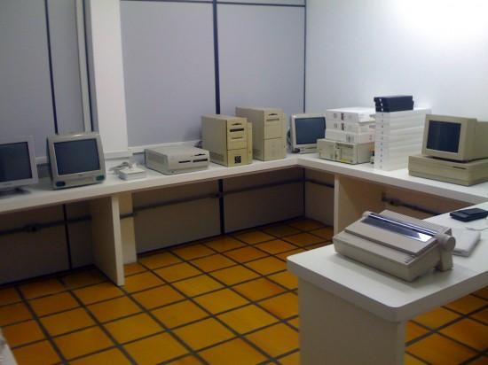 Museu/assistência técnica da HiMac Soluções