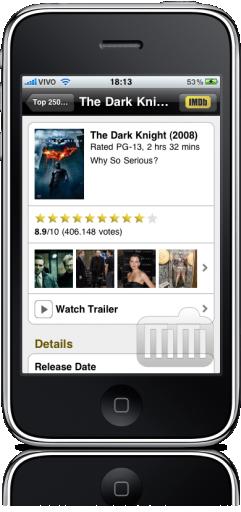 IMDb no iPhone