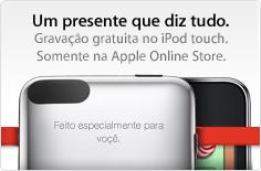 Apple voçê com cedilha