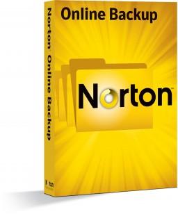 Caixa do Norton Online Backup, da Symantec
