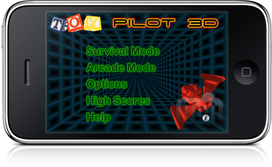 Toy Pilot 3D no iPhone