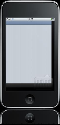 iPod touch FAIL borda preta