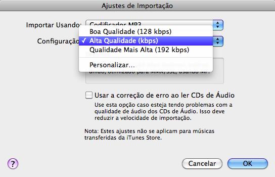 FAIL de tradução do iTunes