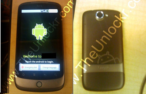 HTC Passion vs. Google Phone (Nexus One)