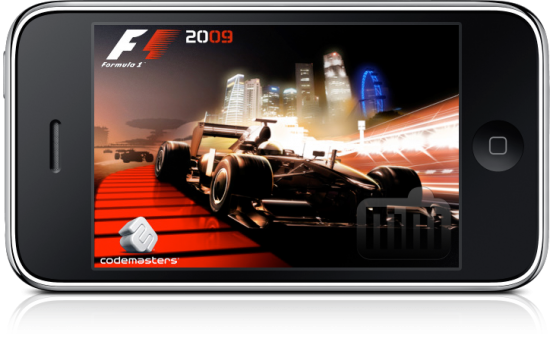F1 2009 Game no iPhone