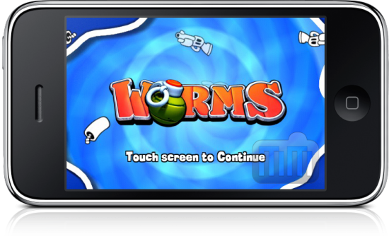 WORMS 2.0 no iPhone