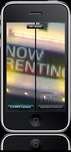 5.0 Megapixel Camera no iPhone