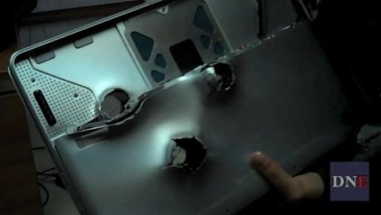 MacBook unibody metralhado