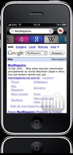 Dragon Search no iPhone