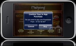 Mahjong no iPhone