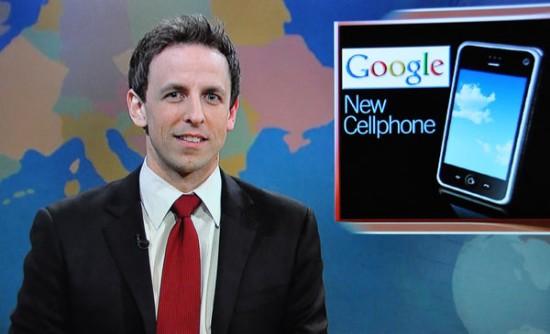 Brincadeira com iPhone no SNL