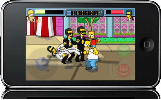The Simpsons Arcade para iPhone