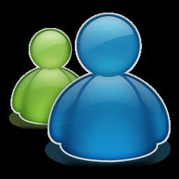 Ícone do Microsoft Messenger