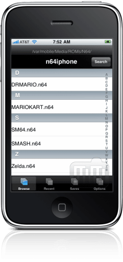 n64iphone no iPhone (N64 Emulator)