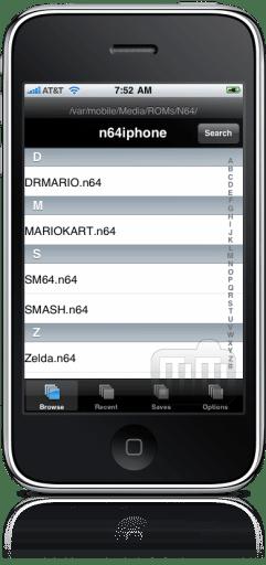 n64iphone no iPhone (N64 Emulator)