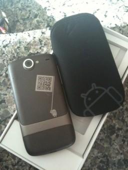 Unboxing do Nexus One (aka Google Phone)