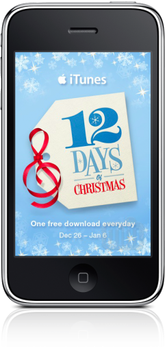 Promoção iTunes Europa