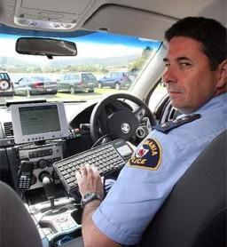 "Policial e novo sistema de ""caça"" a bandidos"