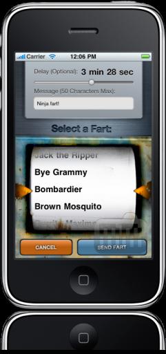 Fart Buddies no iFart Mobile para iPhone