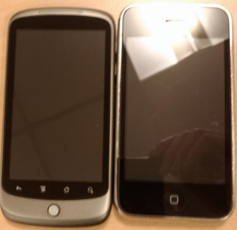 Nexus One vs. iPhone 3GS